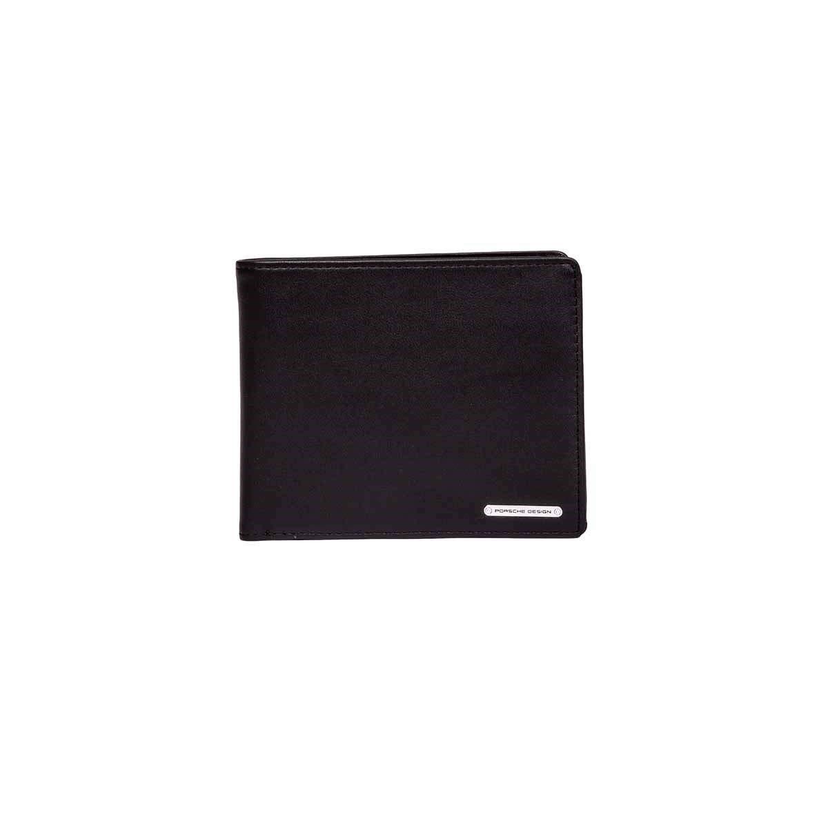 Porsche Design Women's 4090000214900 Black Leather Wallet