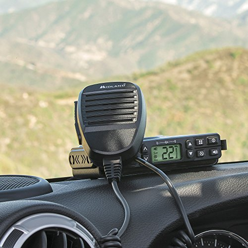 Midland Consumer Radio GXT1000XB Micro Mobile 5W Gmrs with A Portable 36-Mile 50-Channel GMRS Two-Way Radios Bundle by Midland (Image #2)