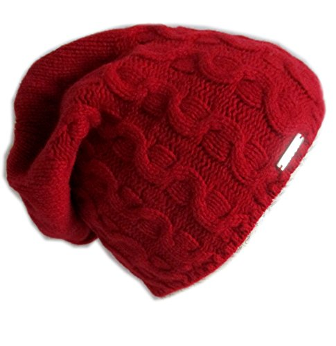 Frost Hats Luxurious Trendy Cashmere Slouchy Hat for Women C