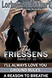 The Friessens Books 19 - 21 (The Friessen Legacy Book 8)