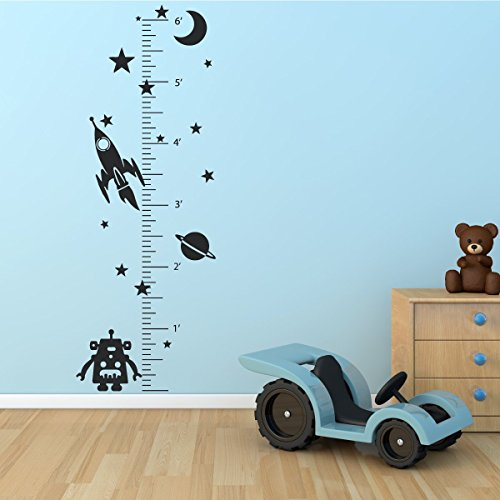Compare price to outer space for kids for Outer space vinyl wall decals