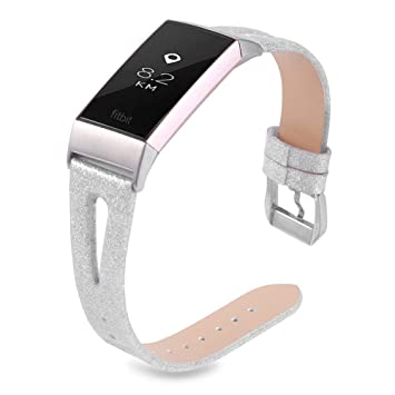 Clips, Arm \u0026 Wristbands Joyozy Bling Bands Compatible Fitbit Charge 2 Womens Slim Glitter ...