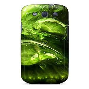 New Style DustinHVance Green Drops Premium Tpu Cover Case For Galaxy S3