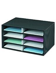 Bankers Box Decorative Eight Compartment Literature Sorter, L...