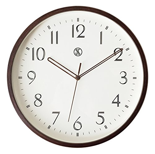 A.Cerco 19' Large Decorative Wall Clock│Solid Aluminium Casing For...