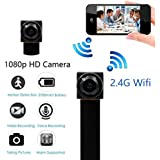 Hidden Camera - Spy Camera - HD 1080P - WiFi Camera APP Remote View with APP - Support 64GB Micro SD Card - with Motion Detection for Home Security, Pet Baby Monitor