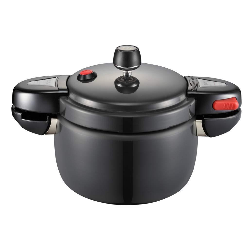 高品質プレッシャークッカー ミニ圧力鍋回転開閉アルミ合金防爆家庭用ガス小16人 家族 (サイズ : 4.4L) 4.4L  B07SPF4JN2