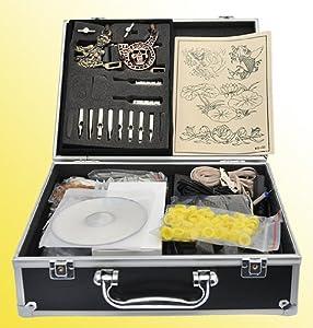 Top 10 professional tattoo kits best machines guns for Eyepower tattoo kit