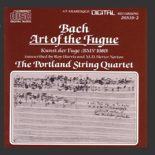 Price comparison product image Bach: Art of the Fugue (BMV 1080)