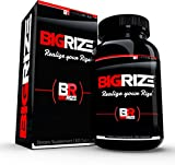 Bigrize #1 Rated Male Enhancement & Testosterone Booster, 60 Capsules - Increase Gains, Energy, Stamina, Length, Size & More 1 Month