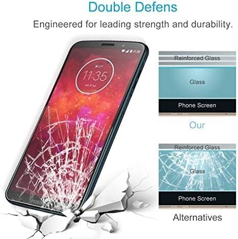 Phone Screen Film 100 PCS 0.26mm 9H 2.5D Tempered Glass Film for Motorola Moto Z3 Play Anti-Scratch Tempered Glass
