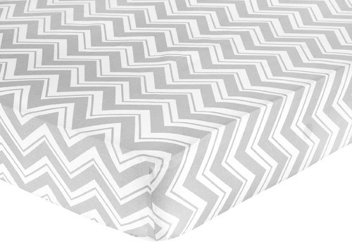 Fitted Crib Sheet For Yellow And Gray Chevron Zig Zag Baby Toddler Bedding By Sweet Jojo Designs Print Buy Online In Brunei At Desertcart Com Productid 3836068