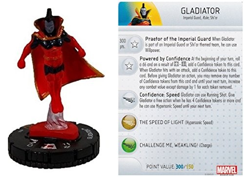 Marvel Heroclix New Mutants Op Kit LE Gladiator #M15-003 Complete with Card (Gladiator Card)