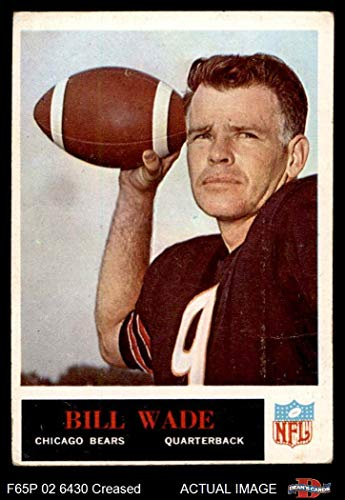 1965 Philadelphia # 26 Bill Wade Chicago Bears (Football, used for sale  Delivered anywhere in USA