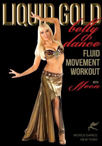 (Liquid Gold - Bellydance Fluid Moves Workout with Neon :: beginner-intermediate level belly dance)