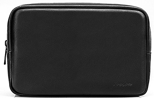 ProCase Accessories Bag Organizer Power Bank Case, Electronics Accessory Travel Gear Organize Case, Cable Management Hard Drive Bag -Black by ProCase (Image #7)