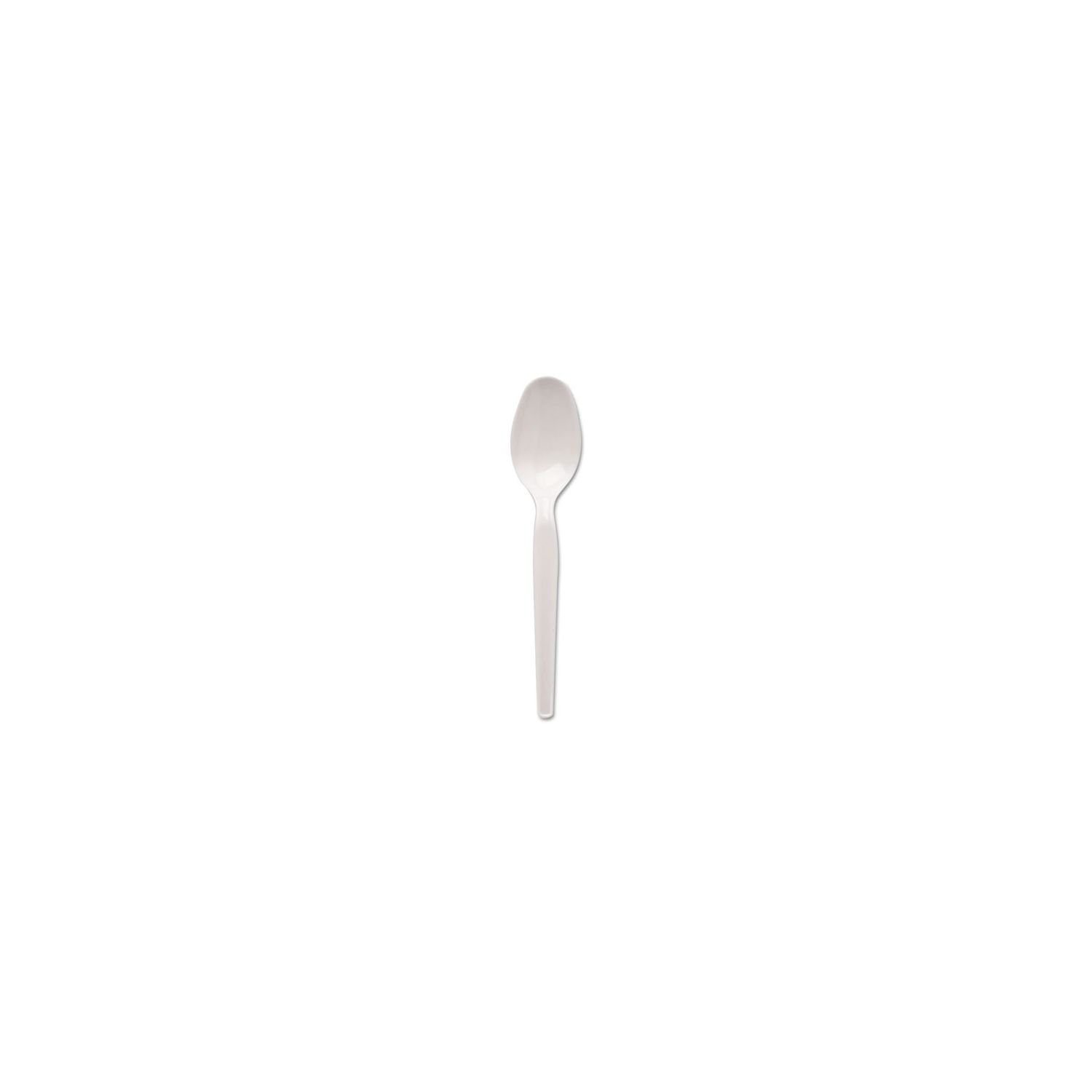 Dixie Heavyweight Plastic Spoons White, 100 ct by Dixie