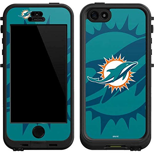 (Skinit Miami Dolphins Double Vision LifeProof Nuud iPhone 5/5s/SE Skin for CASE - Officially Licensed NFL Skin for Popular Cases Decal - Ultra Thin, Lightweight Vinyl Decal Protection)