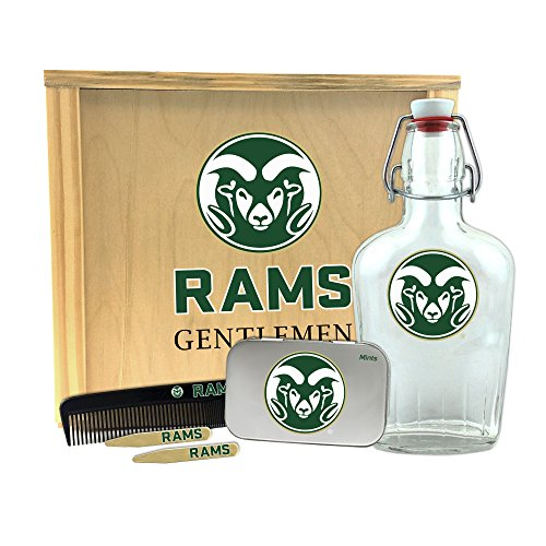 Rams Gentlemen's Gift Box 1-250 ml Glass Swing-Top Bottle, 10