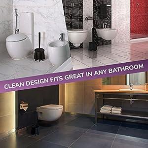 Tyroler Antibacterial Toilet Brush - design