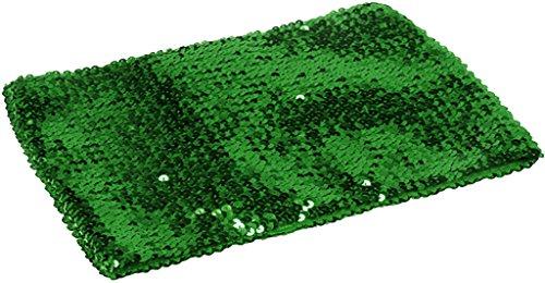 Metallic Bandeau - Alivila.Y Fashion Womens Sparkling Sequins Party Tube Top 4098-Green