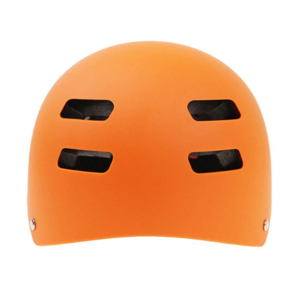 YSH YSHSkihelm Integral Geformten ABS + + + EPS CE-Zertifikat Skihelm Outdoor Sports Ski Snowboard Skateboard,Orange-S50-53cm B07H2DX2P1 Skihelme Gutes Design 094152