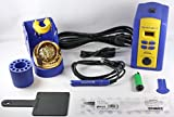 Hakko FX951-66, T15-D16 Soldering Station with T15-D16, 1.6 mm Chisel Tip, Blue