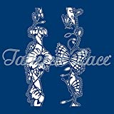 Tattered Lace Love is in the Air Butterfly / Floral Cutting Dies TLD0113