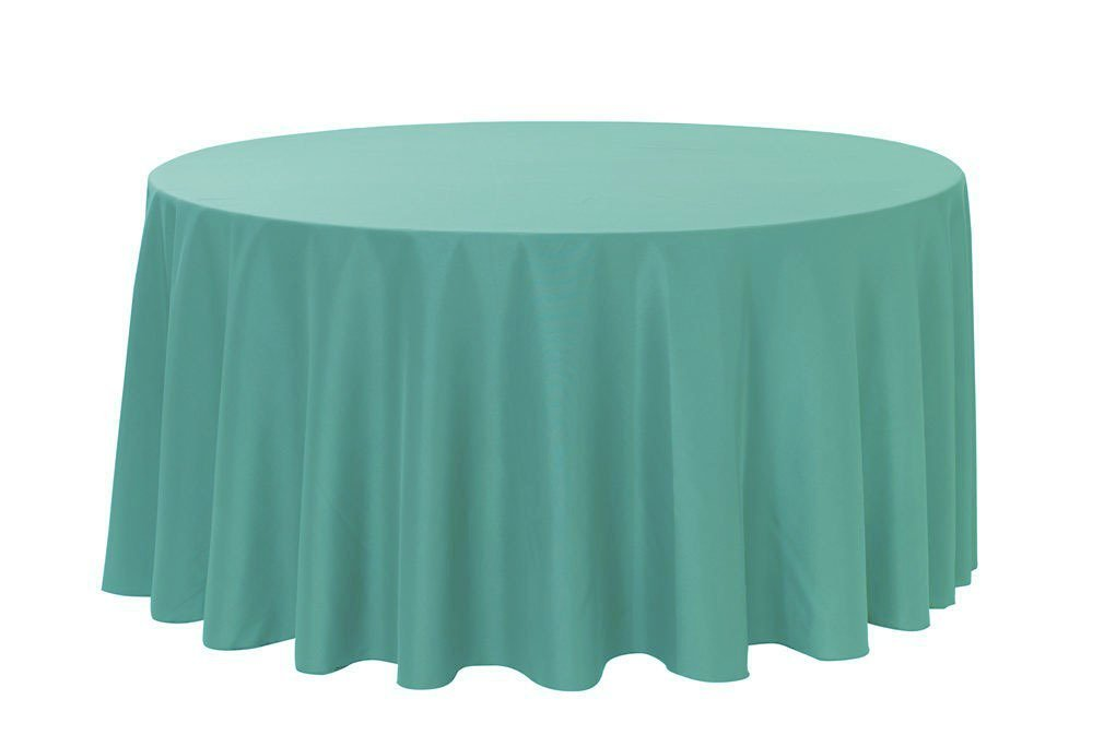 Amazon.com: Your Chair Covers   120 Inch Round Polyester Tablecloth  Tiffany, Seamless Premium Wedding Table Cloth For 5 Ft Round Tables:  Kitchen U0026 Dining