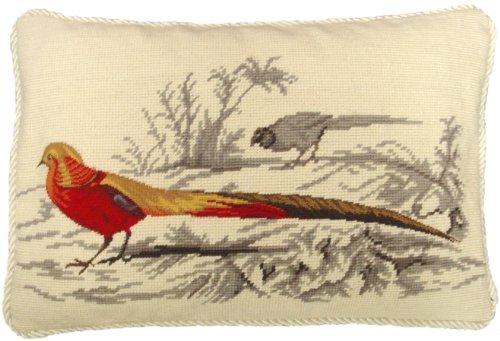 Needlepoint Pillows Birds - 3