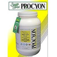 4 Each- 5.5 lb. Jars - Soap Free PROCYON PLUS Powder Carpet Cleaner