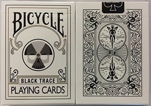 Bicycle Black Trace Playing Cards Nuclear Bad Apple Design (Nuclear Playing Cards)