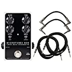 Darkglass Microtubes B3K 2.0 Bass Distortion Pedal w/ 4 Cables! from Darkglass