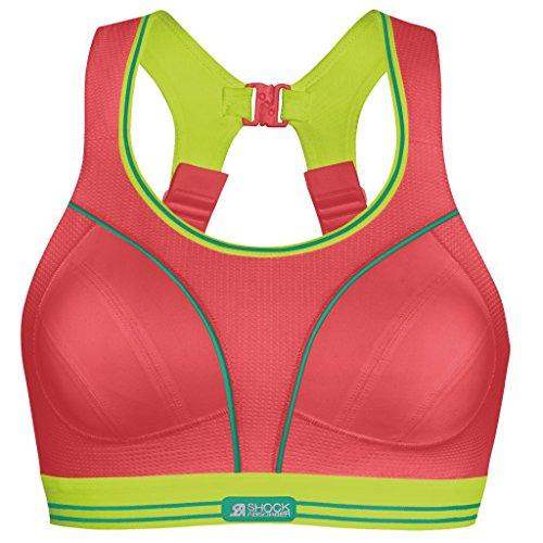 Shock Absorber - Soutien-gorge de sport - Sans couture Femme -  Rouge -