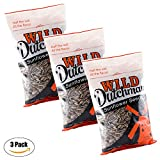 Wild Dutchman Sunflower Seeds - Unique Family Recipe Containing No GMOs Half the Salt Hearty Crunch Made in the USA (13 oz / Pack of 3)