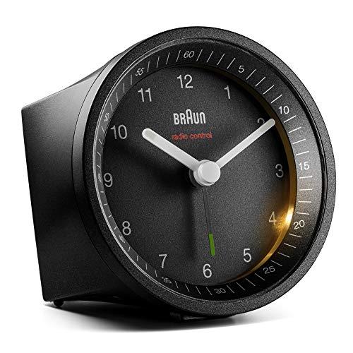 Braun Classic Radio Controlled Analogue Alarm Clock - BC07B-DCF (DCF/GMT+1)