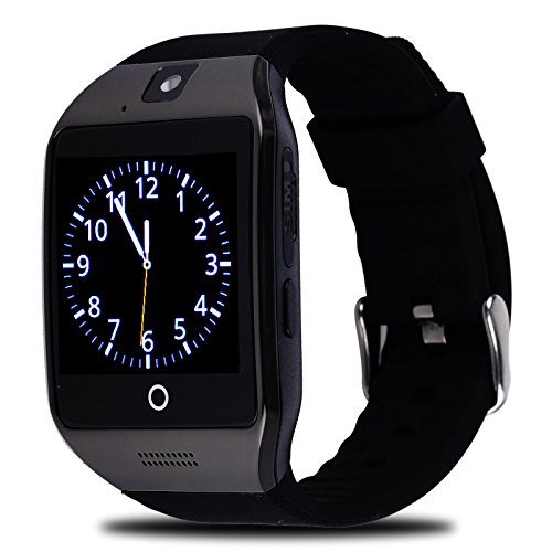 UPC 757450566654, Xgody Apro M08 smart watch 1.54 Inch LCD Screen SIM 8G TF Card 1.3M Camera NFC smart wristwatch for Samsung HTC Sony Android Smartphone (Black)