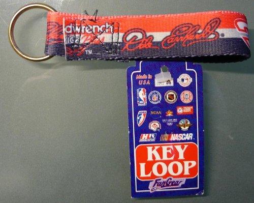 - Fan Gear - Key Loop - Lot of Seven (7) NASCAR Keyrings - Assorted Drivers