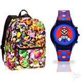 super mario sleeping bag - Super Mario Brothers Backpack and Watch Set
