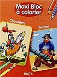 MAXI BLOC A COLORIER PIRATES / CHEVALIERS