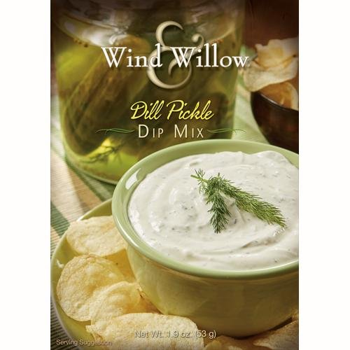 Dill Veggie Dip - Wind & Willow Dill Pickle Dip Mix 4 boxes