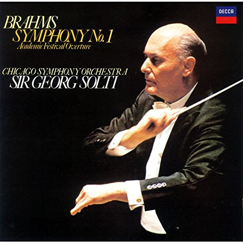 ゲオルグ・ショルティ(指揮) シカゴ交響楽団 / ブラームス:交響曲第1番「大学祝典序曲」