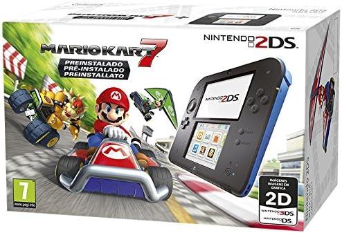 Nintendo 2DS Nero/Blu + Mario Kart 7 Preinstallato [Bundle] [Importación Italiana]: Amazon.es: Videojuegos