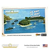 Cruel Seas US Navy PT Boat Flotilla 1:300 WWII Naval Military Wargaming Plastic Model Kit