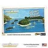 Cruel Seas US Navy PT Boat Flotilla, World War II Naval Battle Game ...