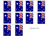 30' Australia String Flag Party Bunting Has 30 Australian 6''x9'' Polyester Banner Flags Attached, Popular For School Classroom, Special Events, Bars, Restaurants, Country Theme Parties