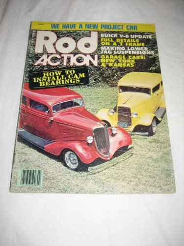 Rod Action V. 7 #1 Jan. 1978 How to Install Cam Bearings