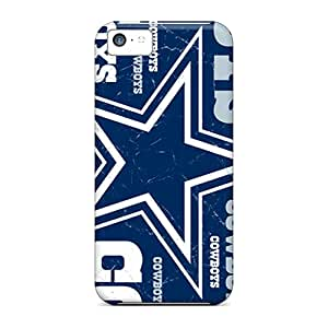 Shock Absorption Cell-phone Hard Covers For Iphone 5c (aWS12100sIdx) Allow Personal Design Trendy Dallas Cowboys Series