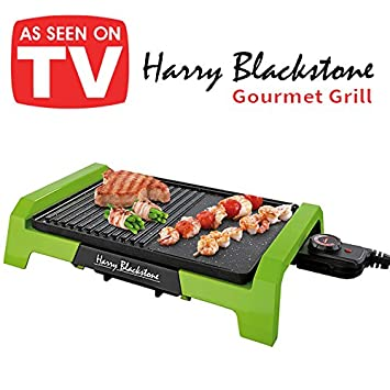 Harry Blackstone - Parrilla Gourmet Original Harry Blackstone La única plancha eléctrica