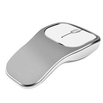 Cathy02Marshall Raton inalámbrico portatil Gaming para Ordenador 2.4GHz Ratón Compacto Mouse Silencioso con Receptor Nano USB dpi 1600 para PC Y Mac: ...